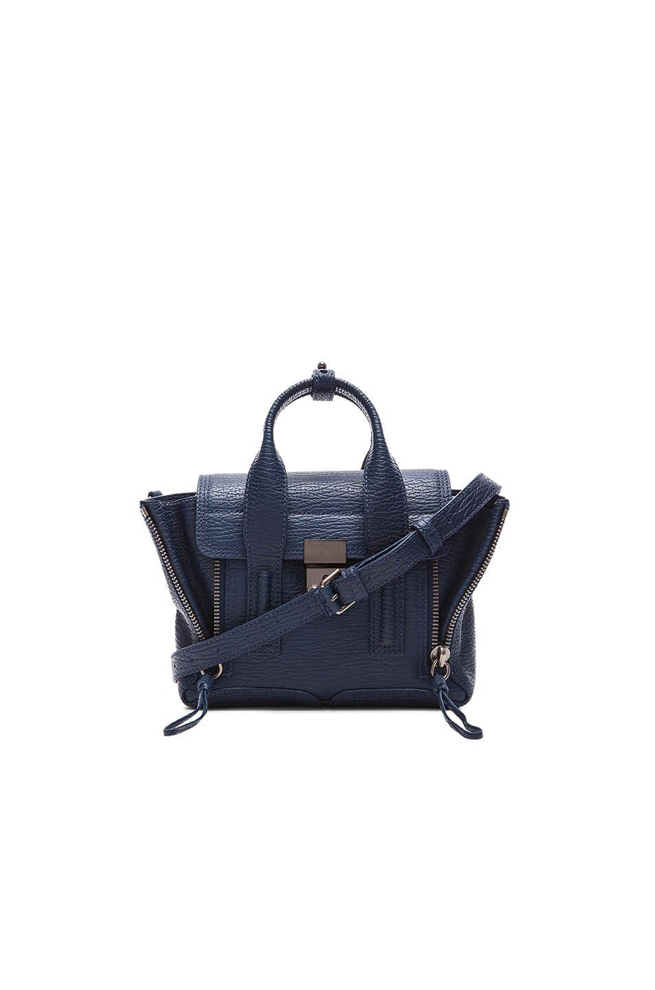 Image 1 of 3.1 phillip lim Mini Pashli Satchel in Lapis