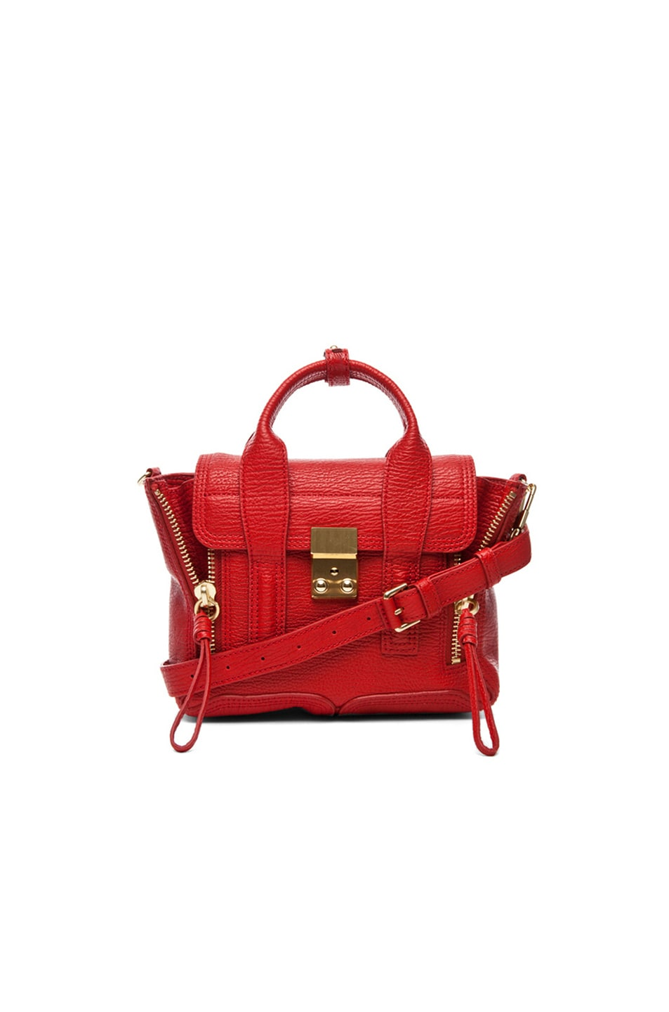 Image 1 of 3.1 phillip lim Mini Pashli Satchel in Red