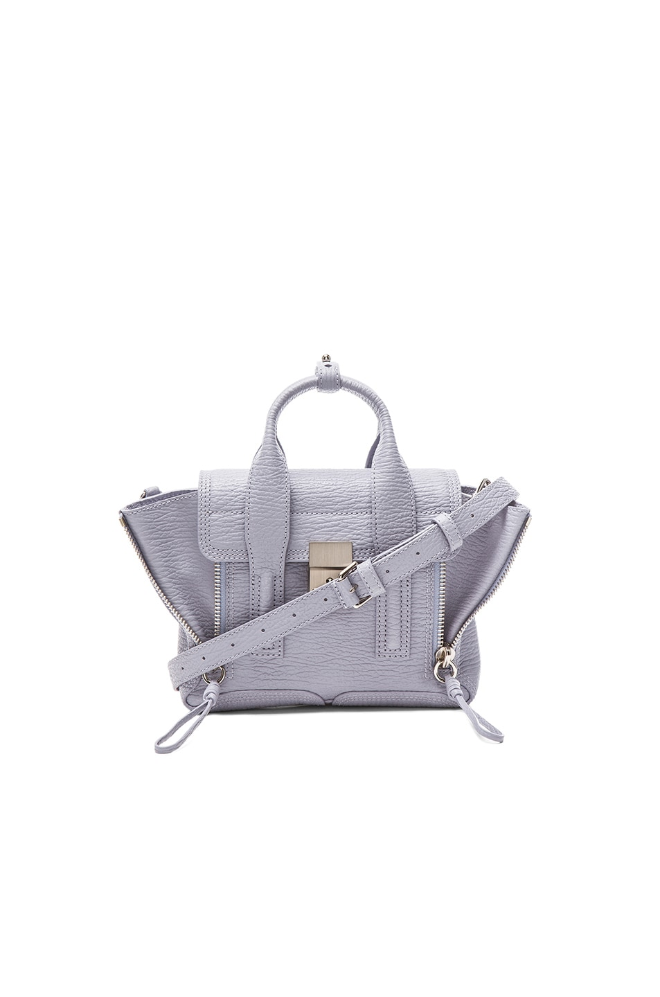 Image 1 of 3.1 phillip lim Mini Pashli Satchel in Lilac