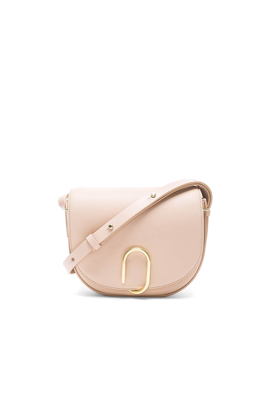 Image 1 of 3.1 phillip lim Alix Saddle Crossbody Bag in Cashew