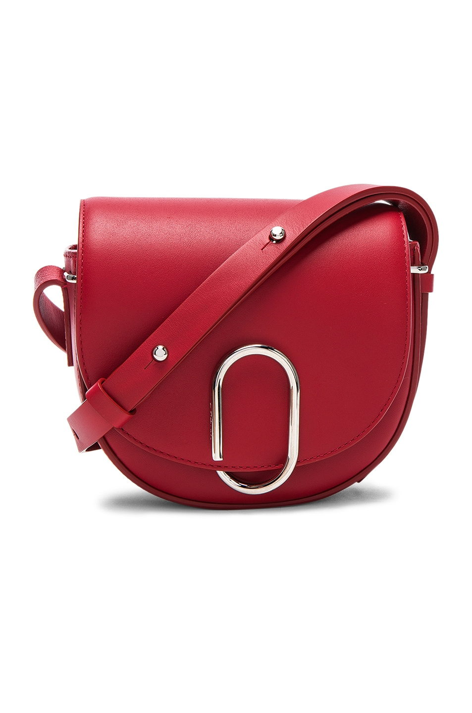Image 1 of 3.1 phillip lim Alix Mini Saddle Crossbody Bag in Scarlet