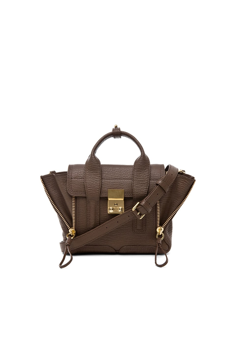 Image 1 of 3.1 phillip lim Mini Pashli Satchel in Taupe