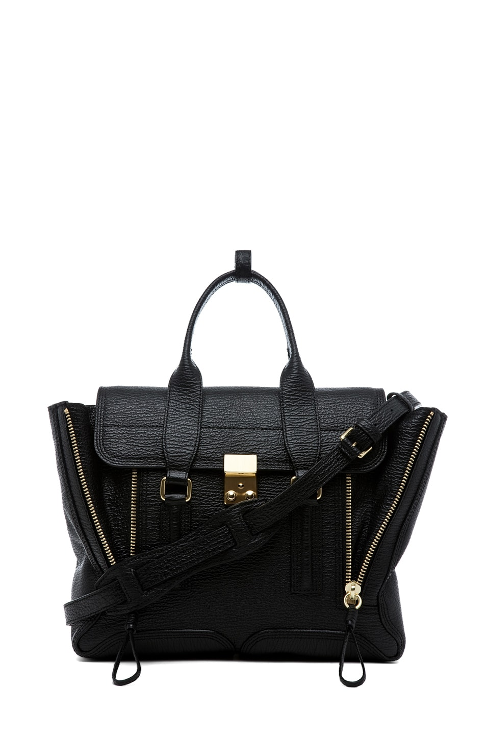 Image 1 of 3.1 phillip lim Medium Pashli Trapeze in Black