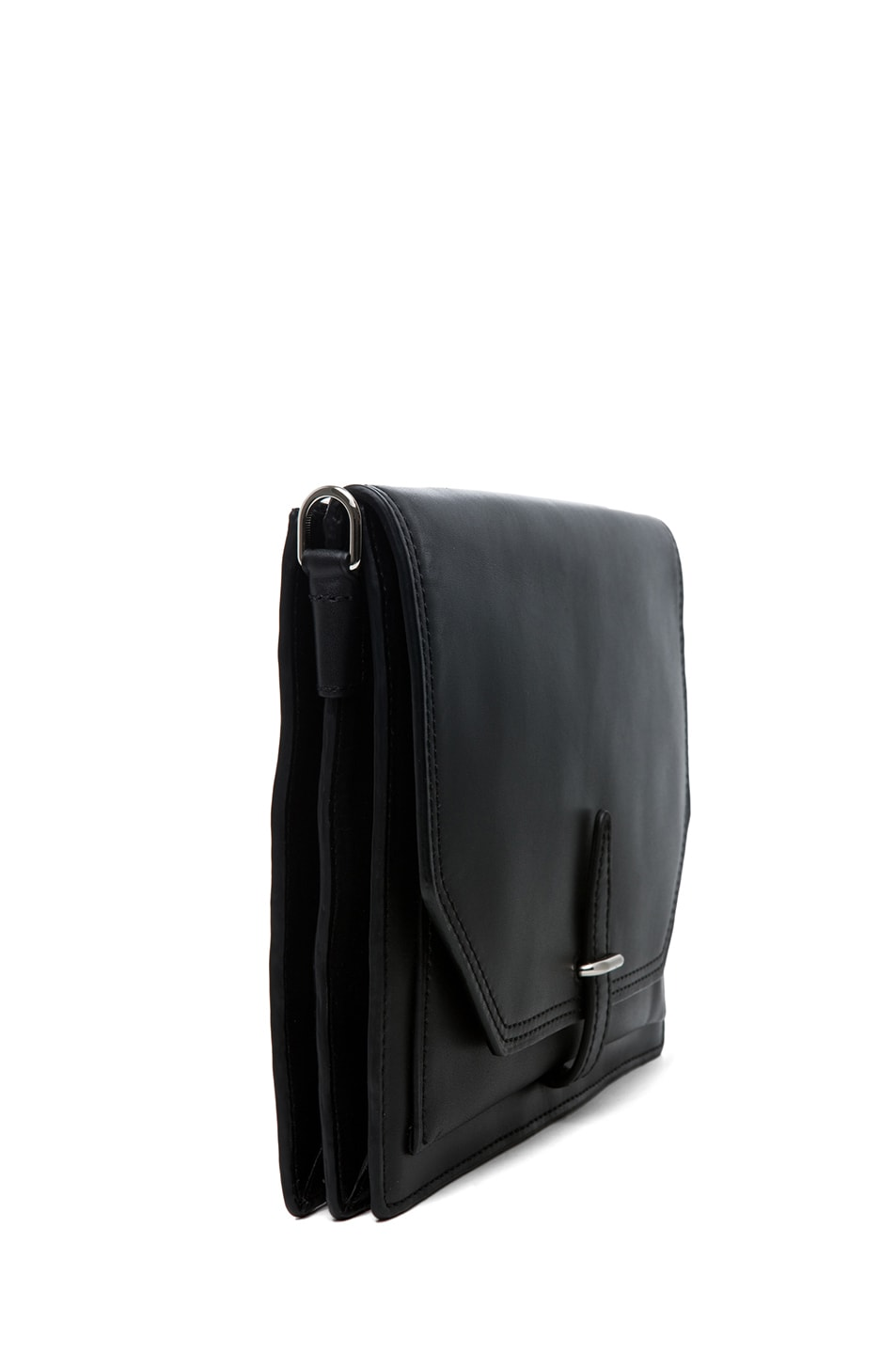 Image 3 of 3.1 phillip lim Polly Double Compartment Crossbody in Black