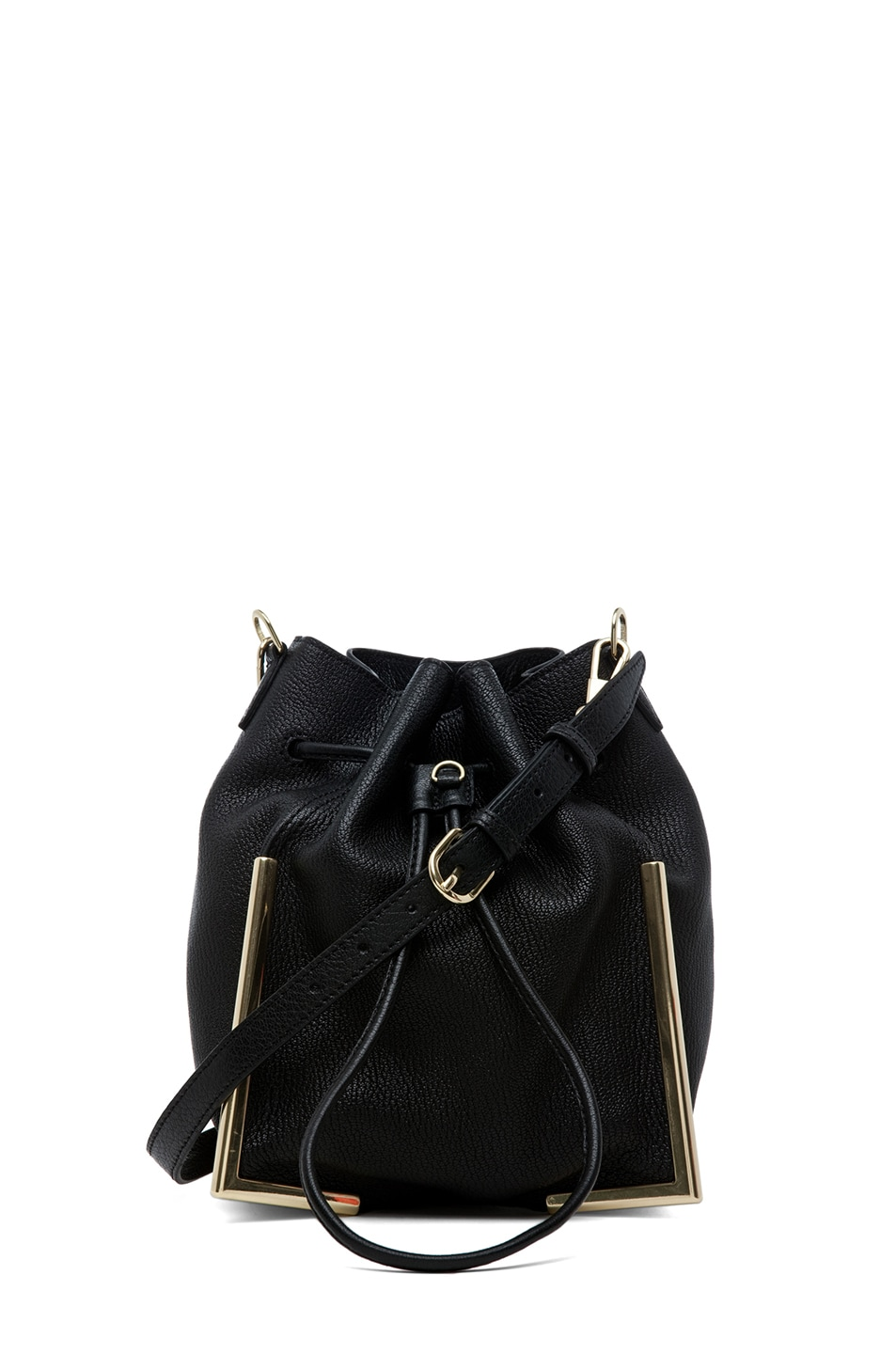 Image 1 of 3.1 phillip lim Scout Small Drawstring Lux Crossbody in Black