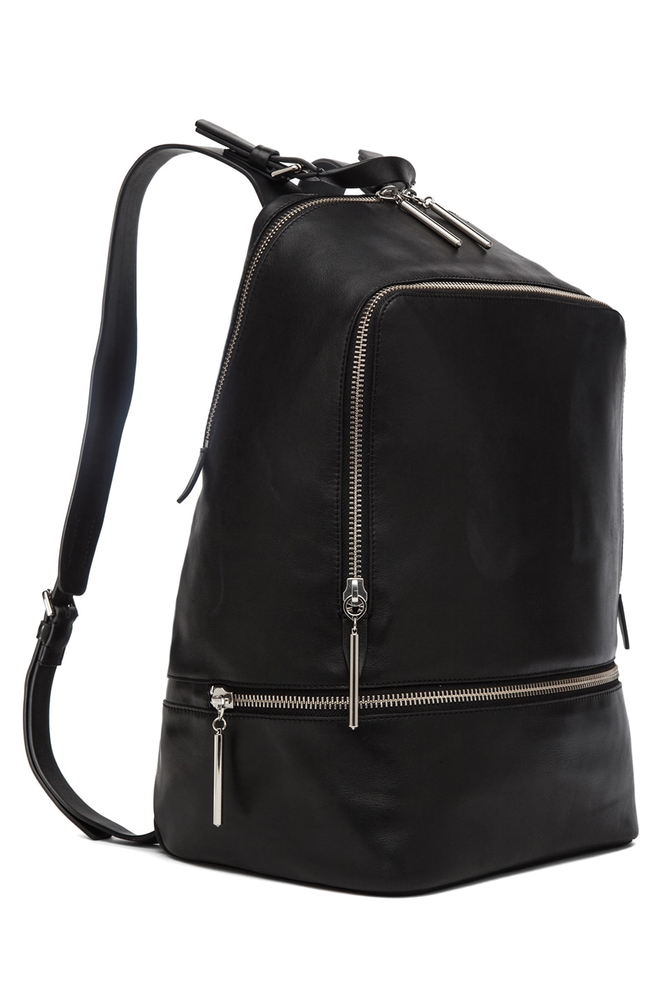Image 3 of 3.1 phillip lim Zip Around Back Pack in Black