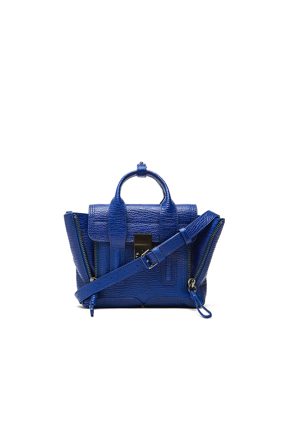 Image 1 of 3.1 phillip lim Mini Pashli Satchel in Cobalt