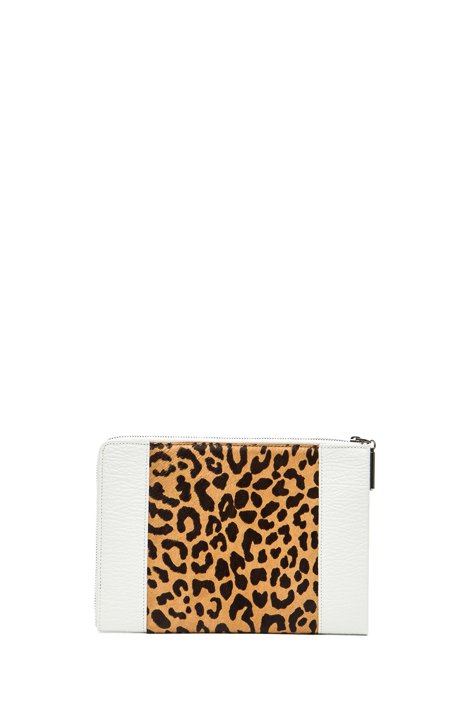 Image 2 of 3.1 phillip lim Flat Zip in Natural Leopard