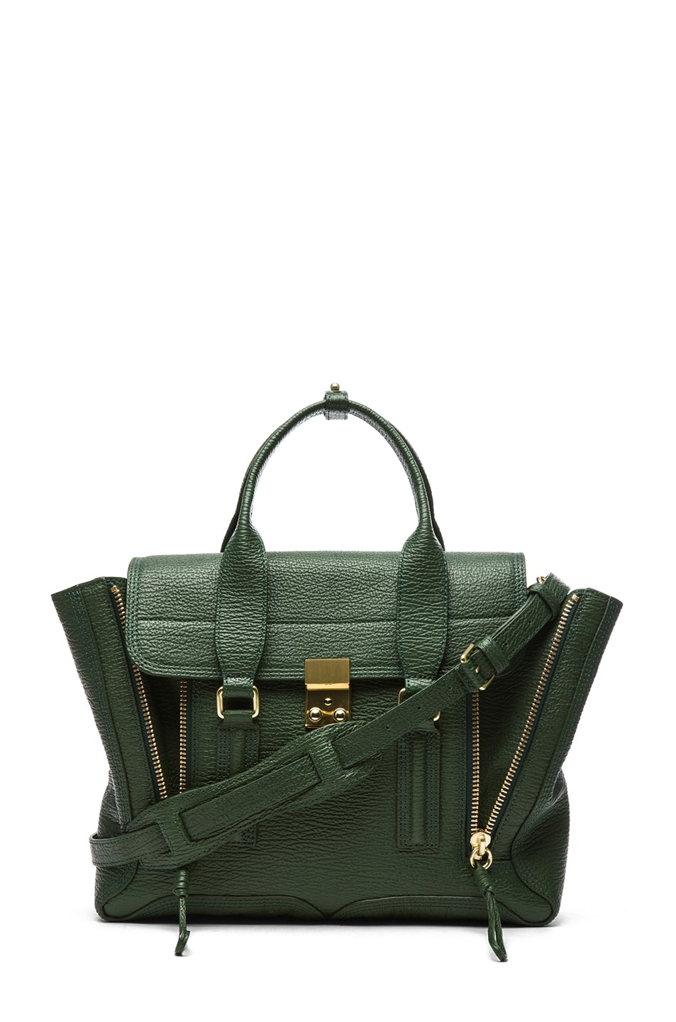 Image 1 of 3.1 phillip lim Medium Pashli Trapeze in Jade