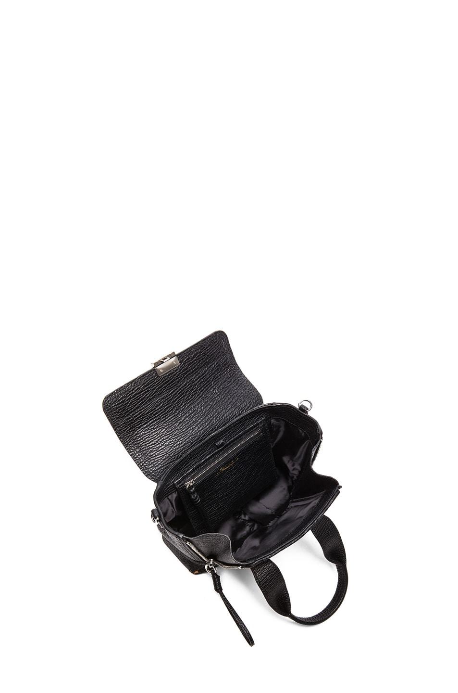 Image 4 of 3.1 phillip lim Mini Pashli Satchel in Natural & Black