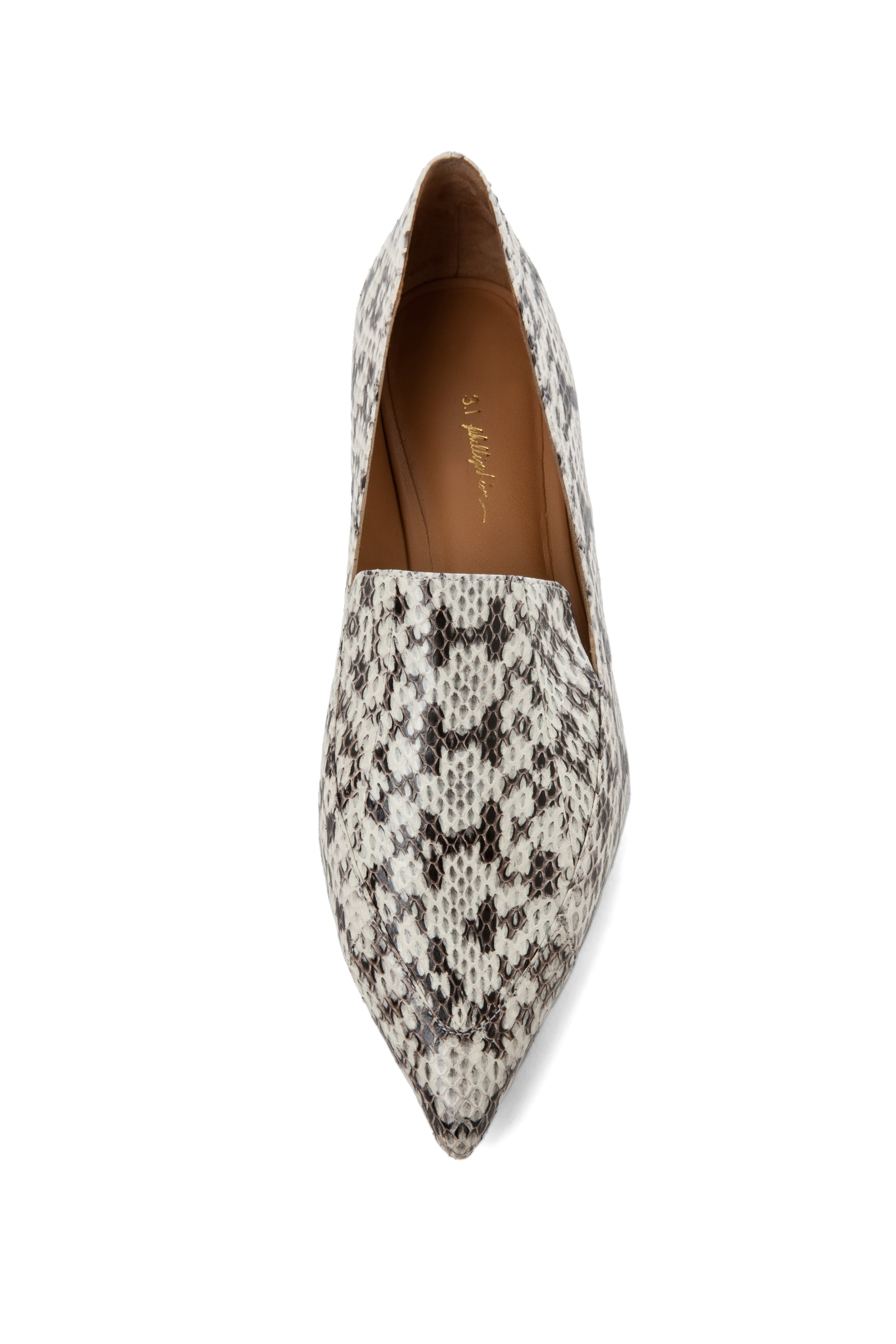 Image 4 of 3.1 phillip lim Spade Loafer Flat in Natural