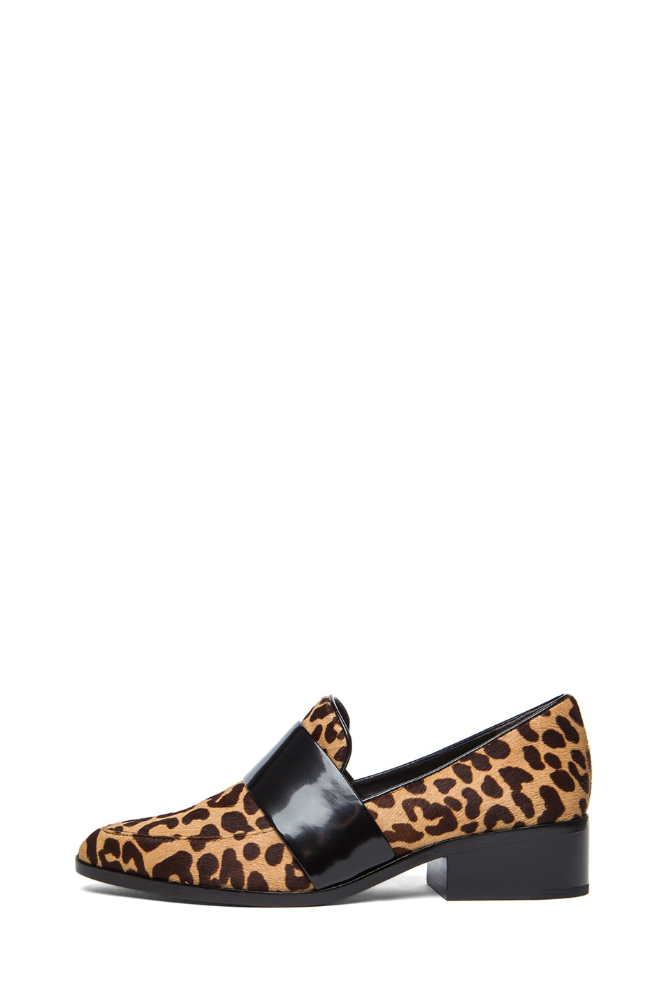 Image 1 of 3.1 phillip lim Quinn Calf Hair Loafers in Natural