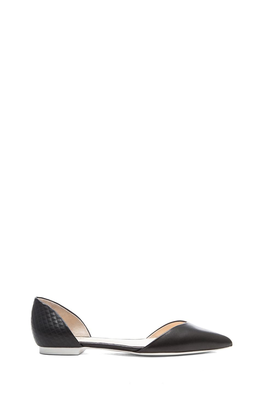 Image 1 of 3.1 phillip lim Devon D'Orsay Flats in Black