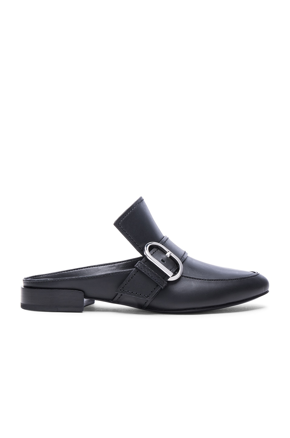Image 1 of 3.1 phillip lim Louie Leather Mule Flats in Black