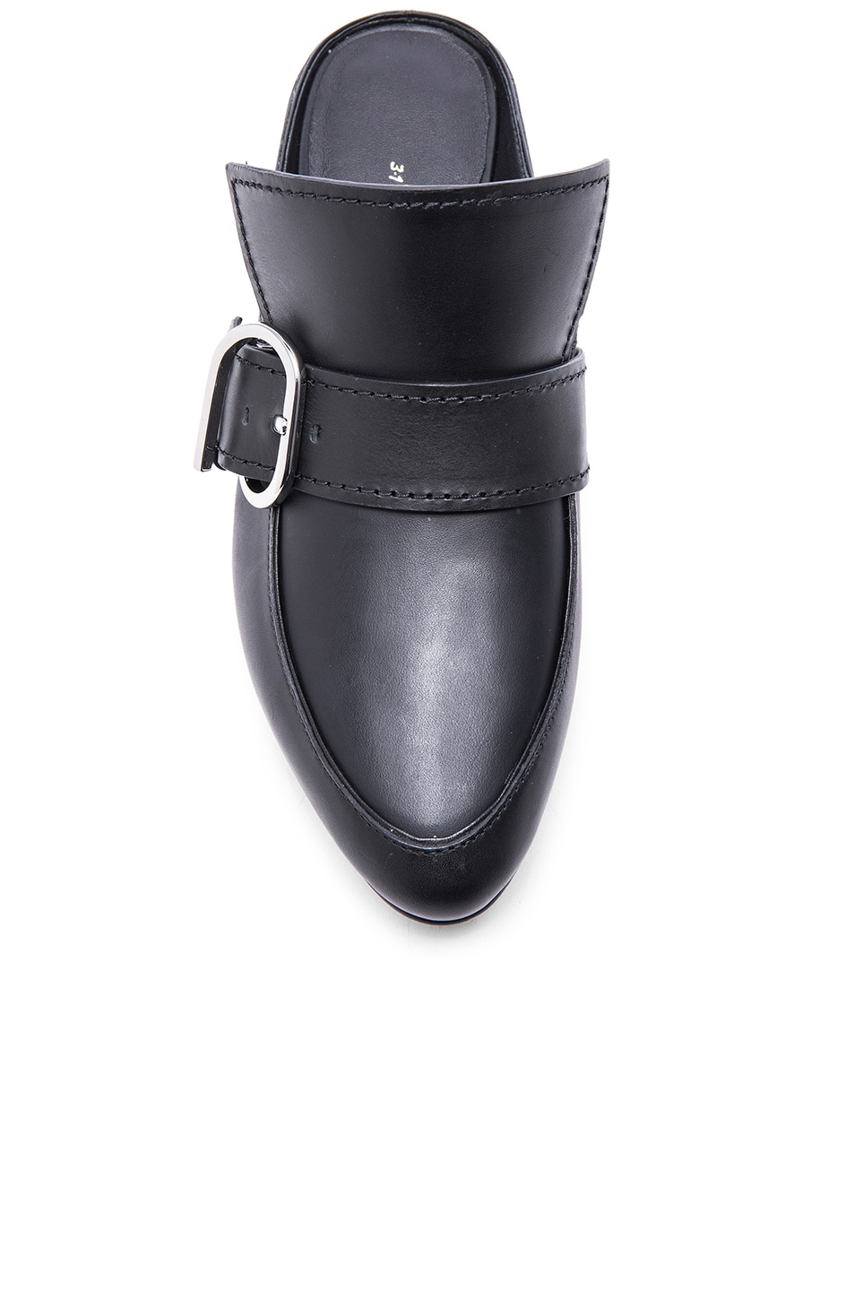Image 4 of 3.1 phillip lim Louie Leather Mule Flats in Black