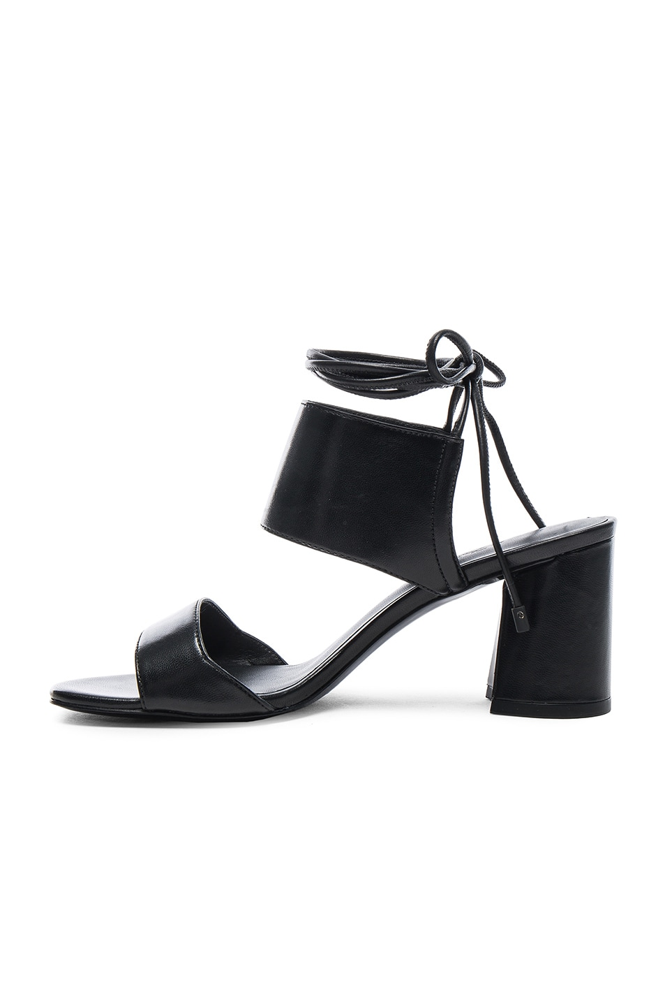 7c4edf190e3 Image 5 of 3.1 phillip lim Leather Drum Ankle Lace Sandals in Black