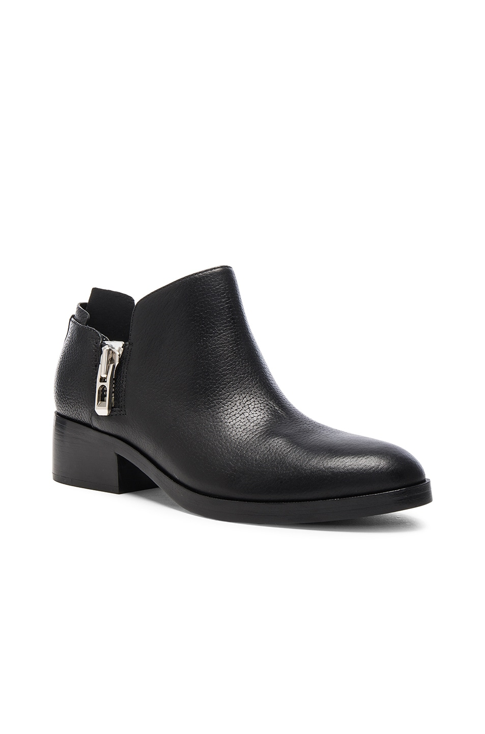 Image 2 of 3.1 phillip lim Leather Alexa Ankle Booties in Black