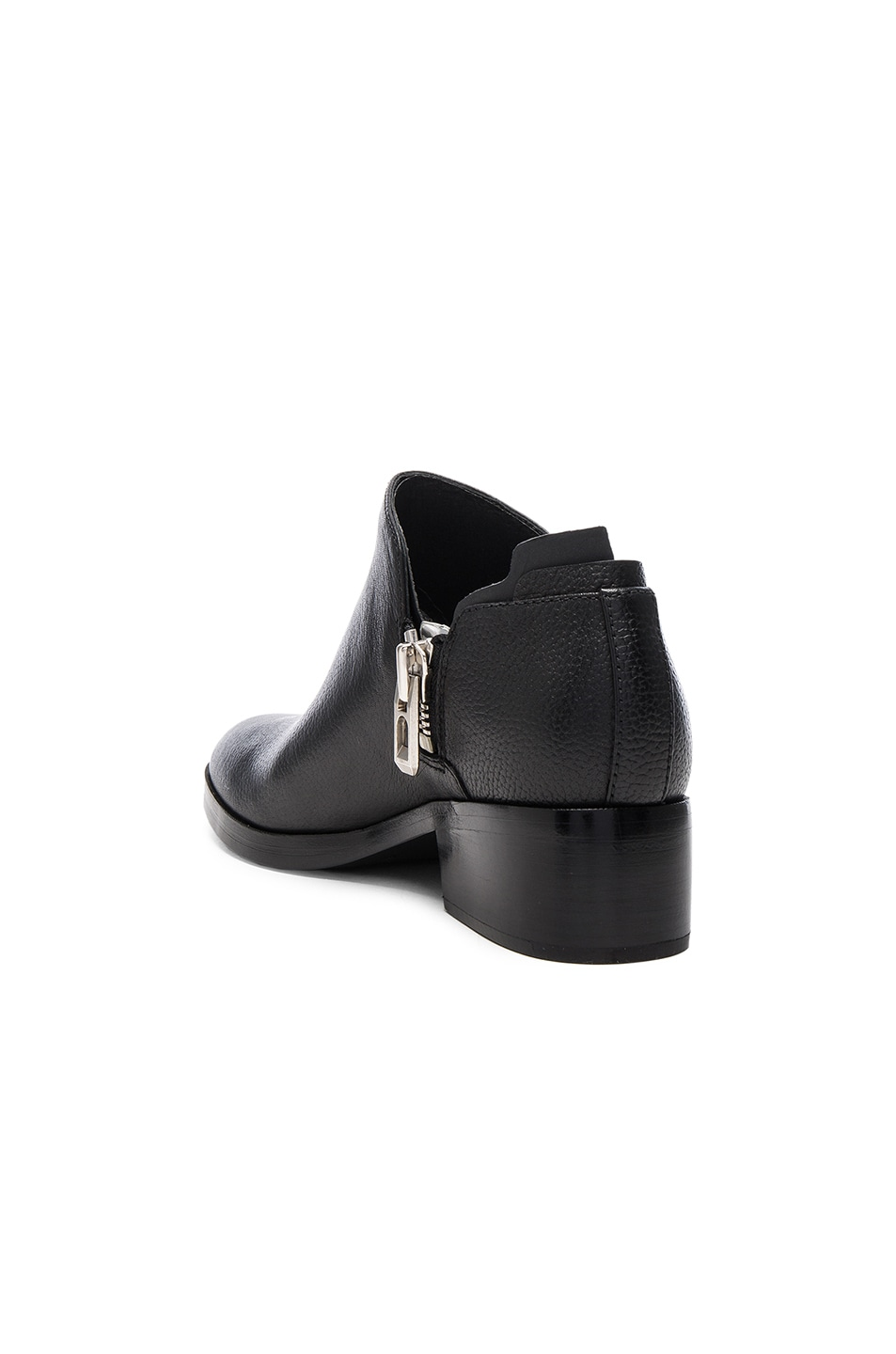 Image 3 of 3.1 phillip lim Leather Alexa Ankle Booties in Black