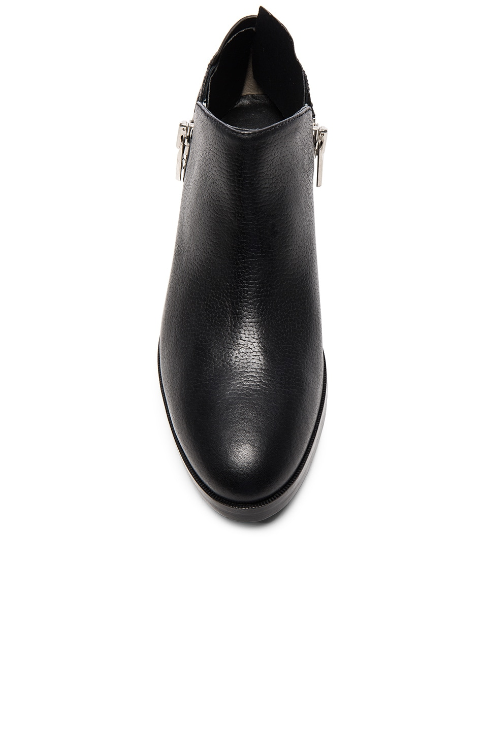Image 4 of 3.1 phillip lim Leather Alexa Ankle Booties in Black