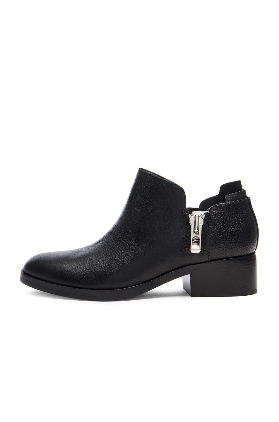 Image 5 of 3.1 phillip lim Leather Alexa Ankle Booties in Black