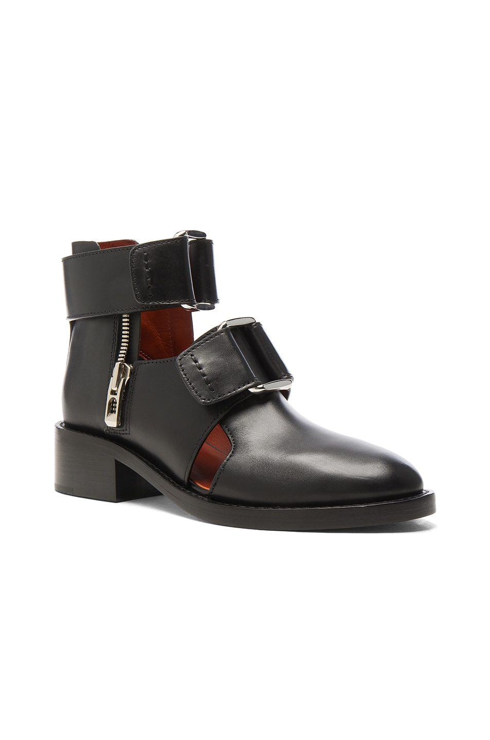 Image 2 of 3.1 phillip lim Leather Addis Cut Out Boots in Black