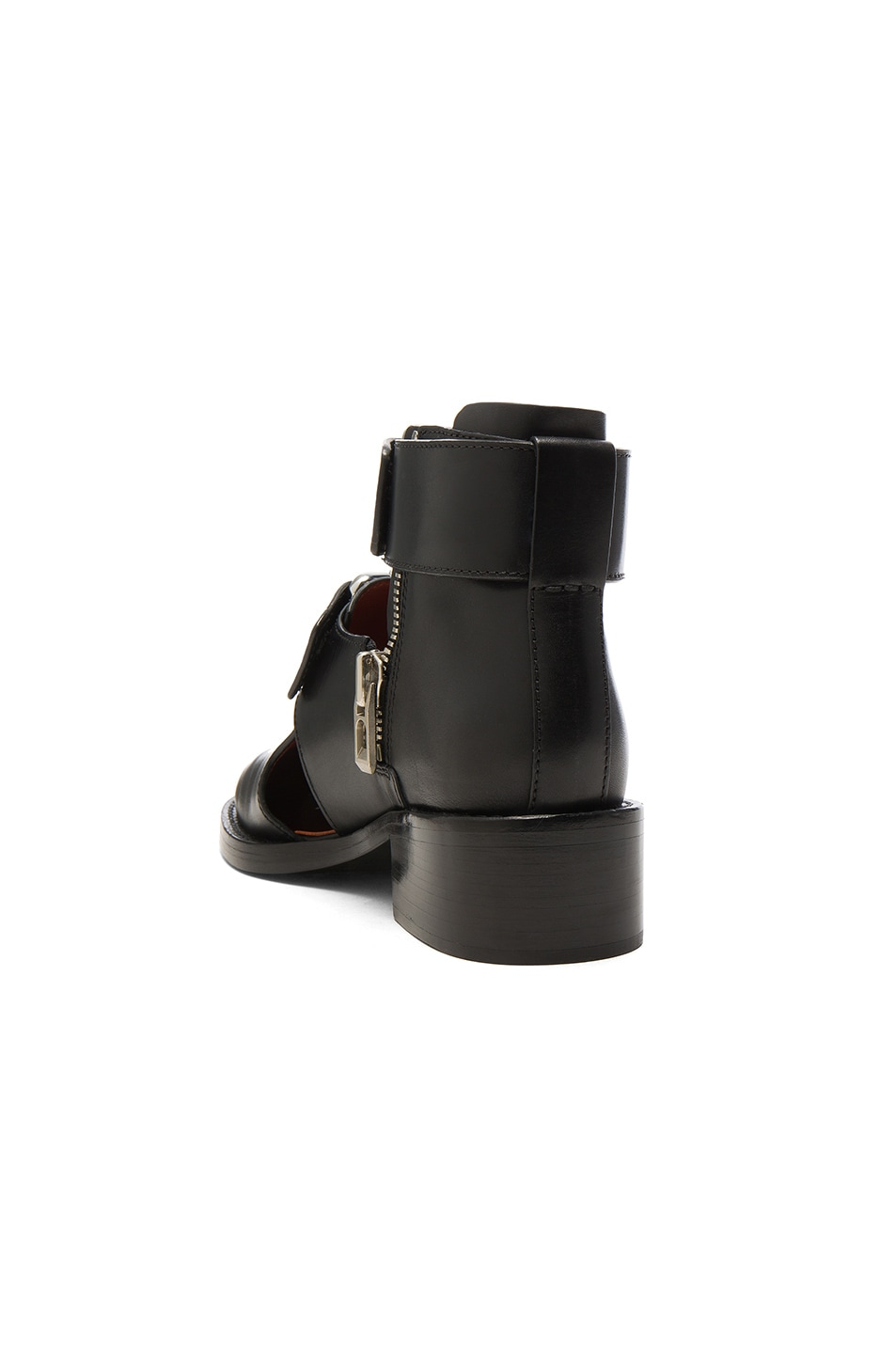 Image 3 of 3.1 phillip lim Leather Addis Cut Out Boots in Black