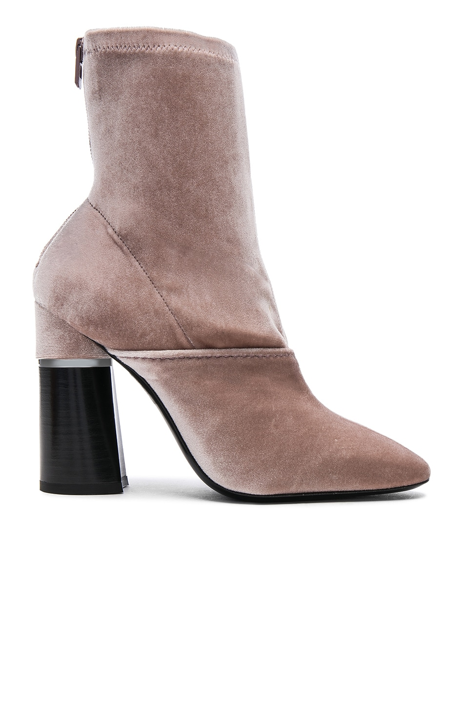 Image 1 of 3.1 phillip lim Velvet Kyoto Boots in Blush