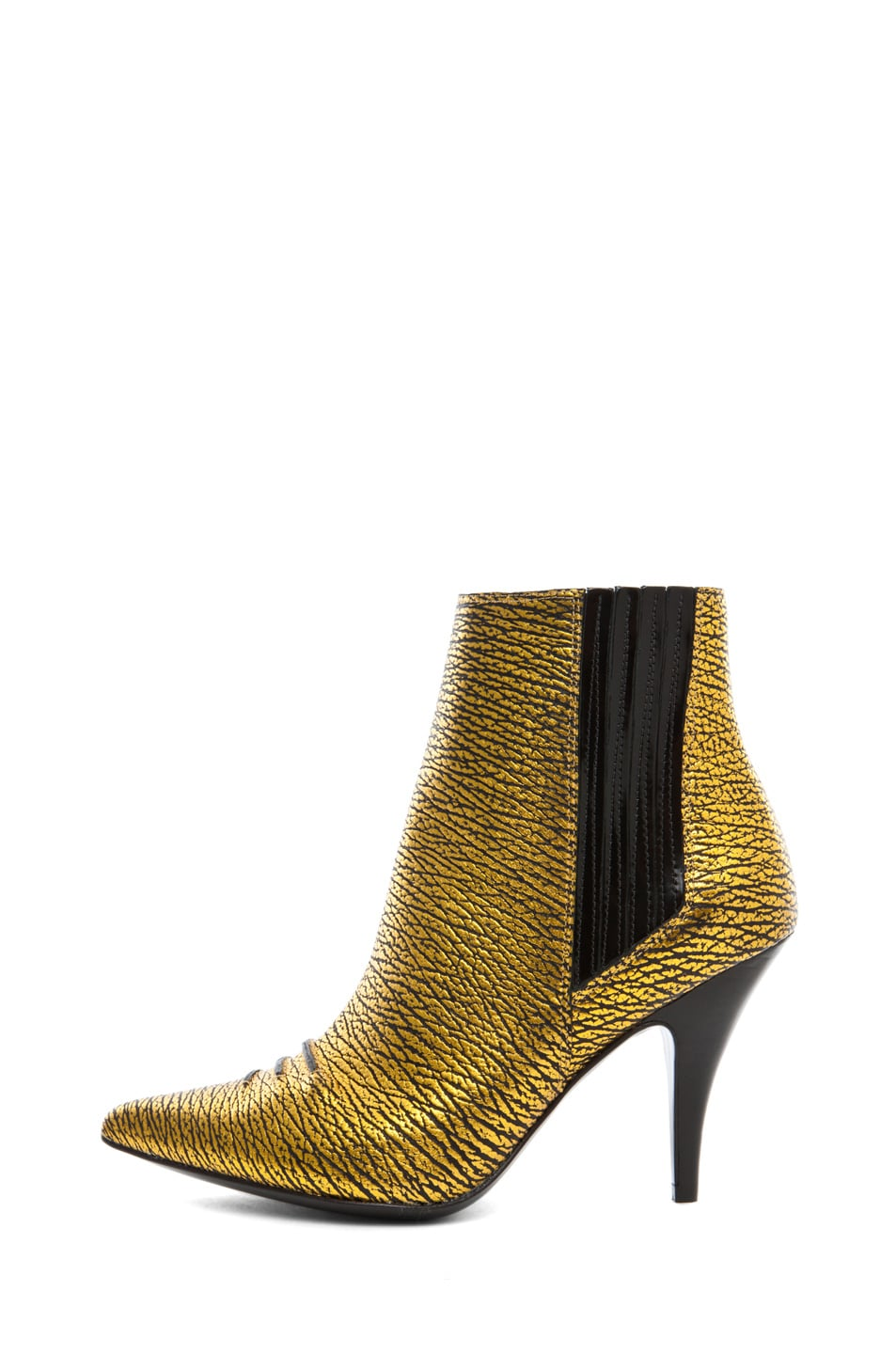 Image 1 of 3.1 phillip lim Delia Bootie in Yellow Gold