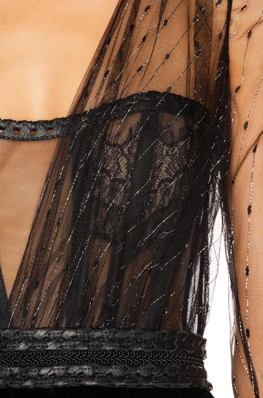 Image 5 of Aadnevik Velvet Jumpsuit in Black