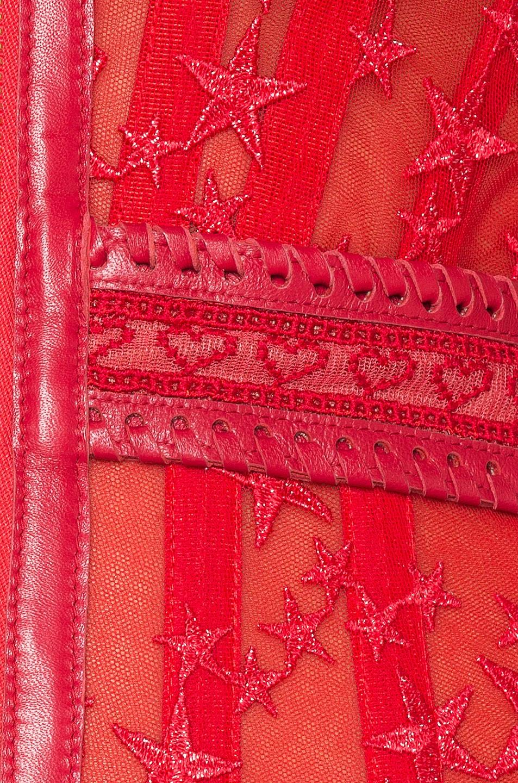Image 4 of Aadnevik Bustier Mini Dress in Red