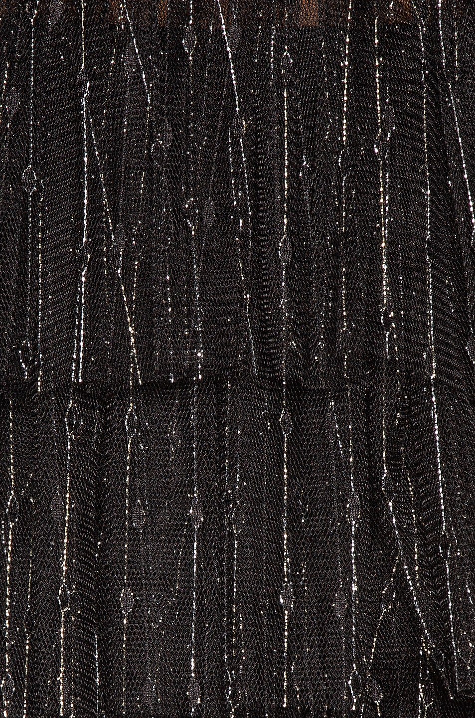 Image 4 of Aadnevik Layered Sparkle Gown in Black