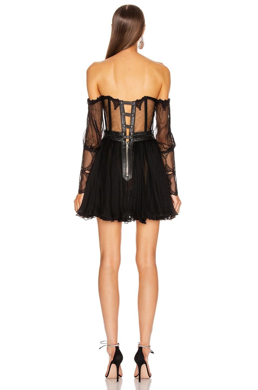 Image 3 of Aadnevik Off the Shoulder Mini Dress in Black