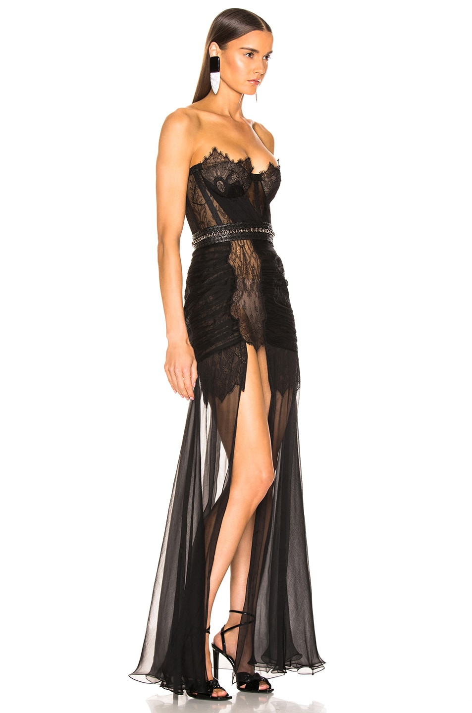 Image 2 of Aadnevik Bustier Gown in Black