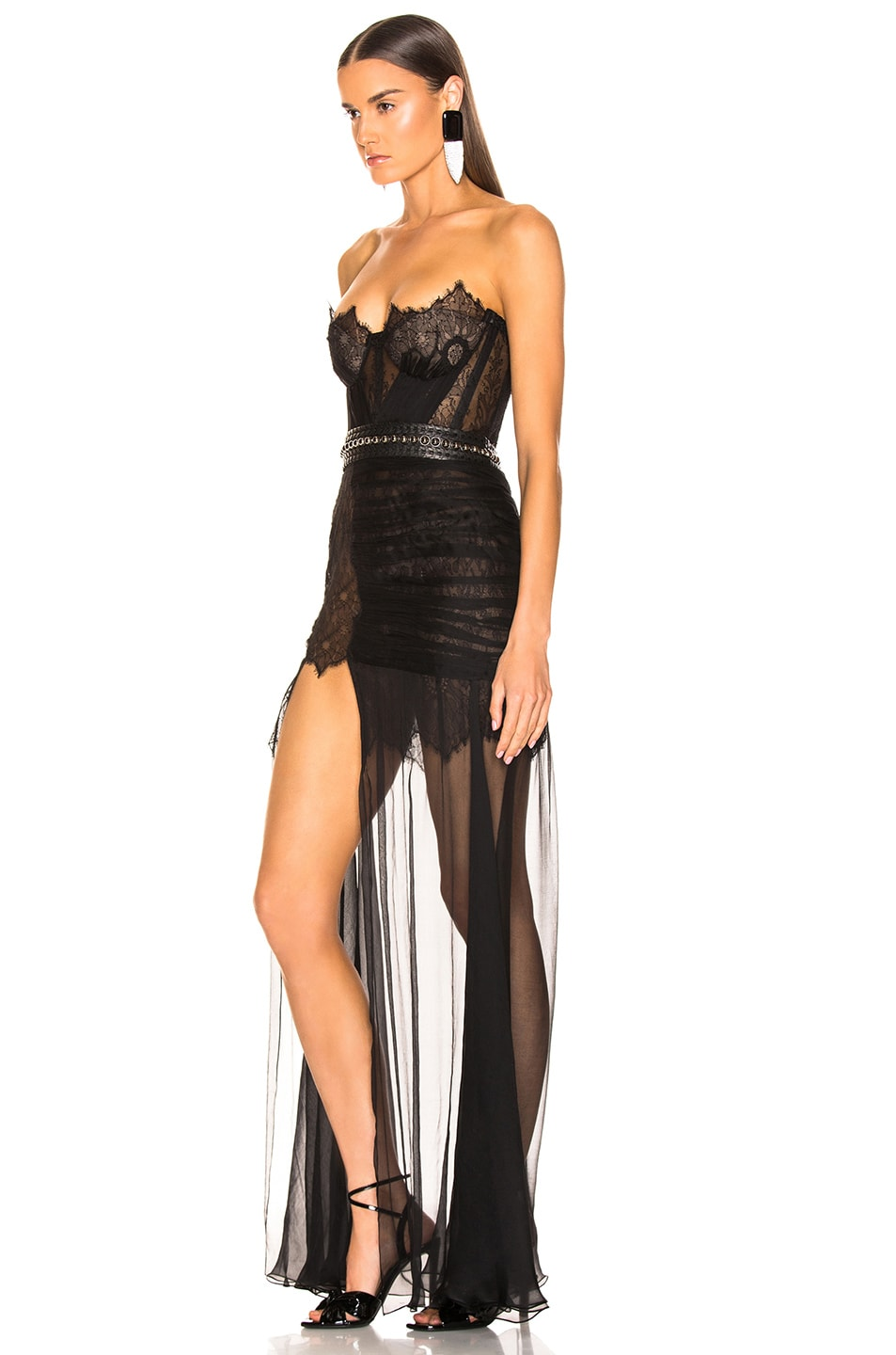 Image 3 of Aadnevik Bustier Gown in Black