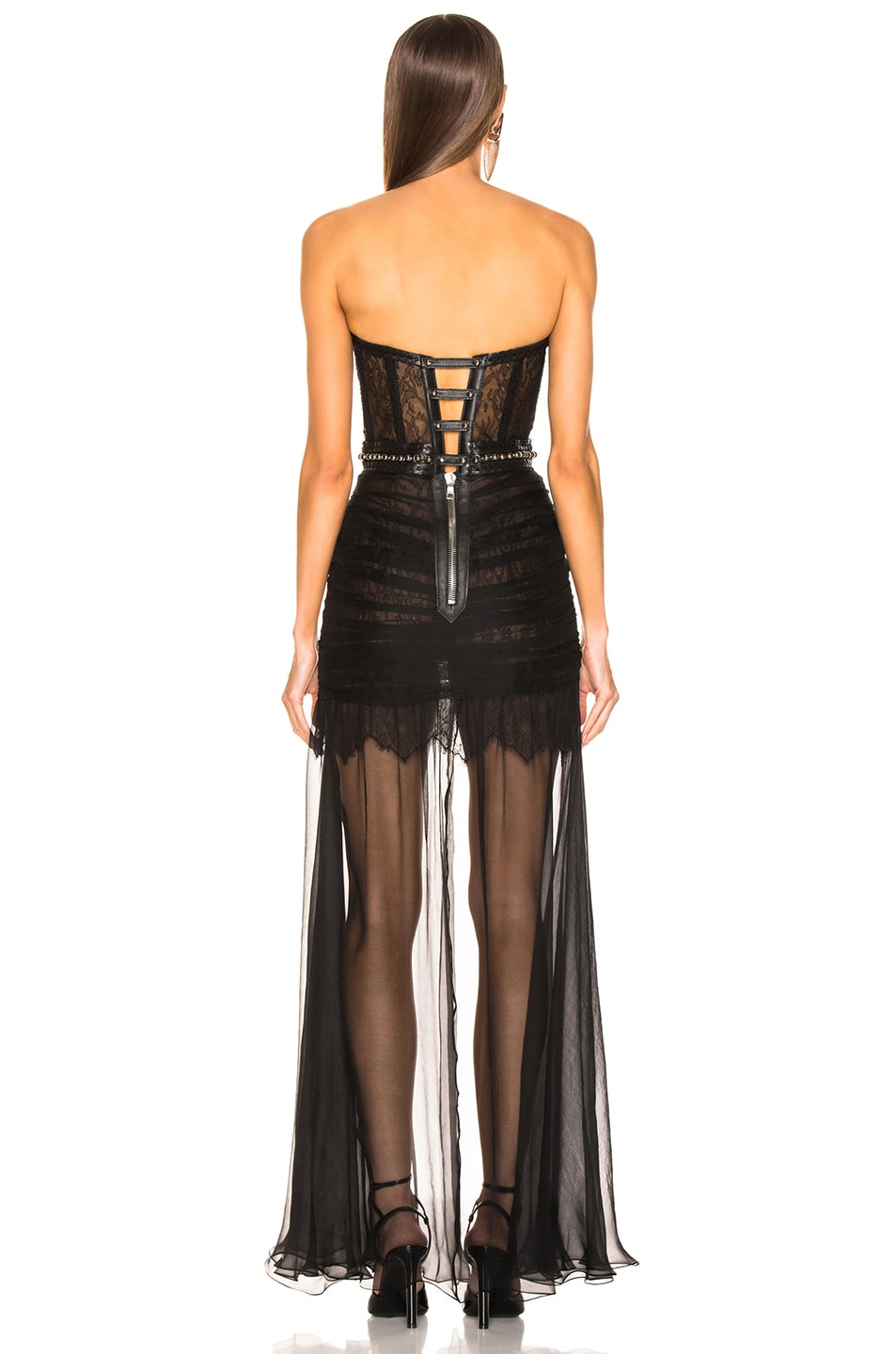 Image 4 of Aadnevik Bustier Gown in Black