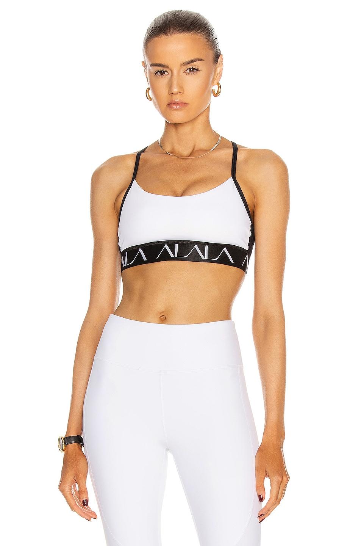 Image 1 of ALALA Crest Bra in White