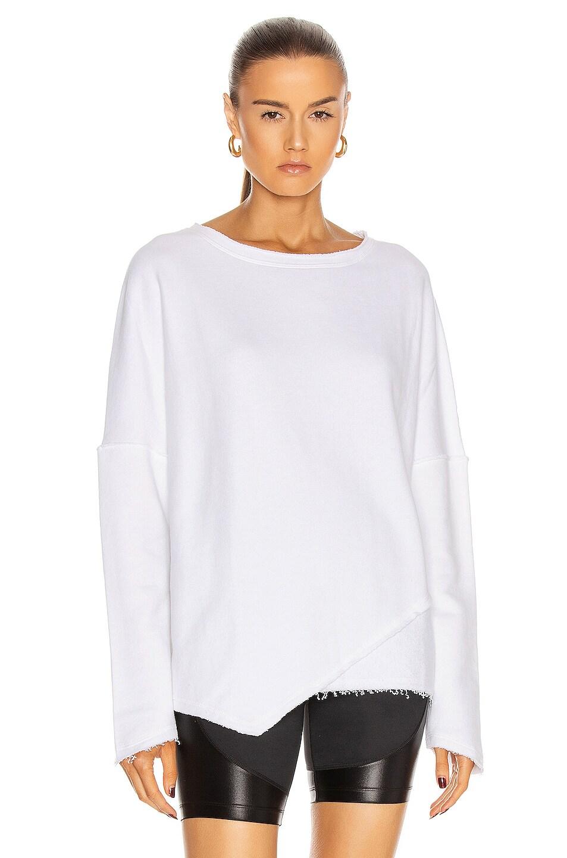 Image 1 of ALALA Exhale Sweatshirt in White
