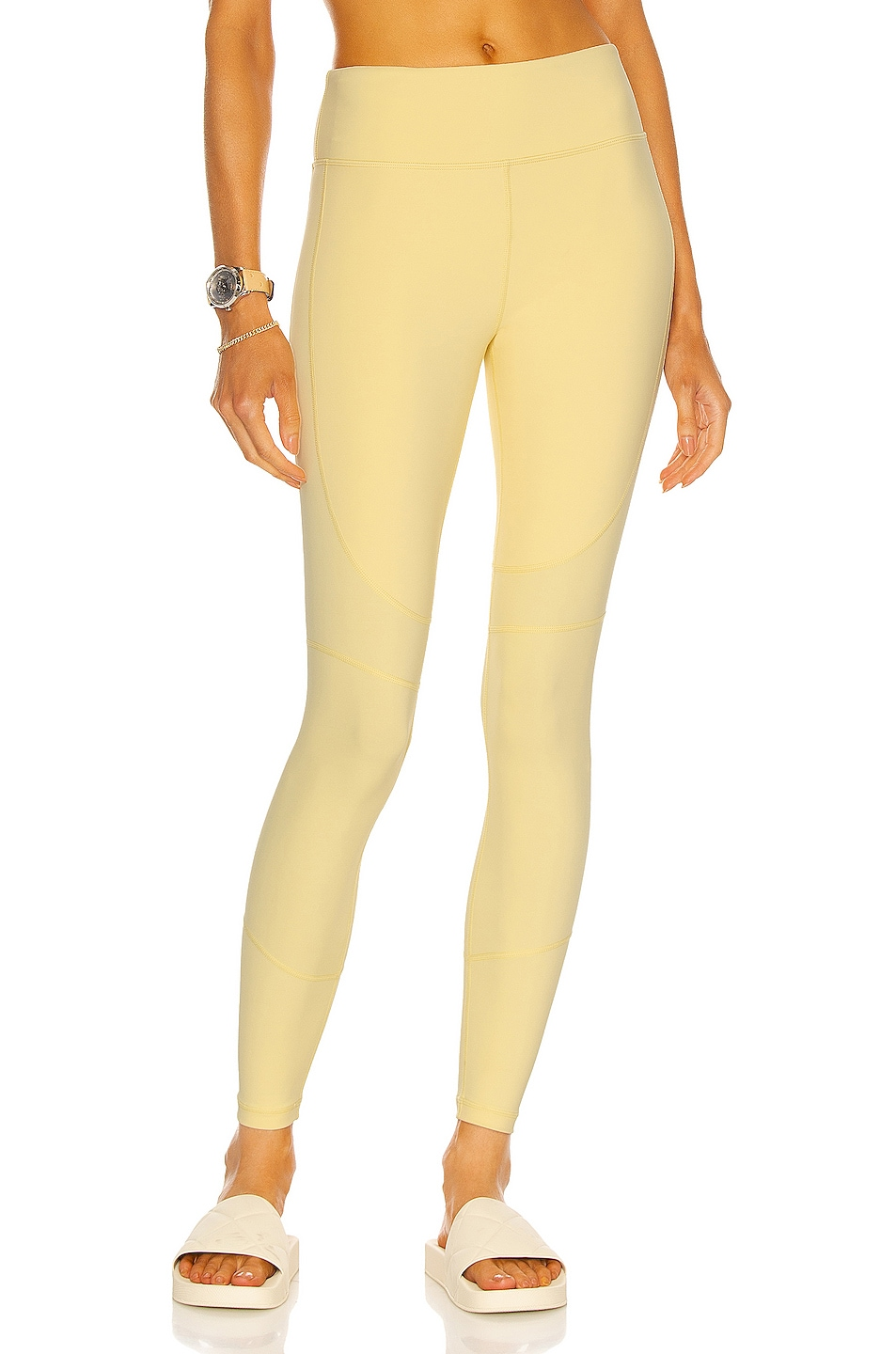 Image 1 of ALALA Vamp Tight Legging in Buttercup