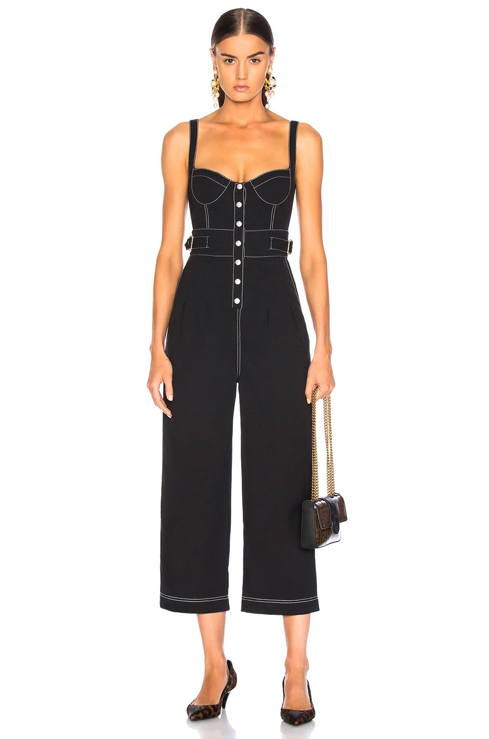 Image 1 of Alice McCall Grazie Jumpsuit in Black