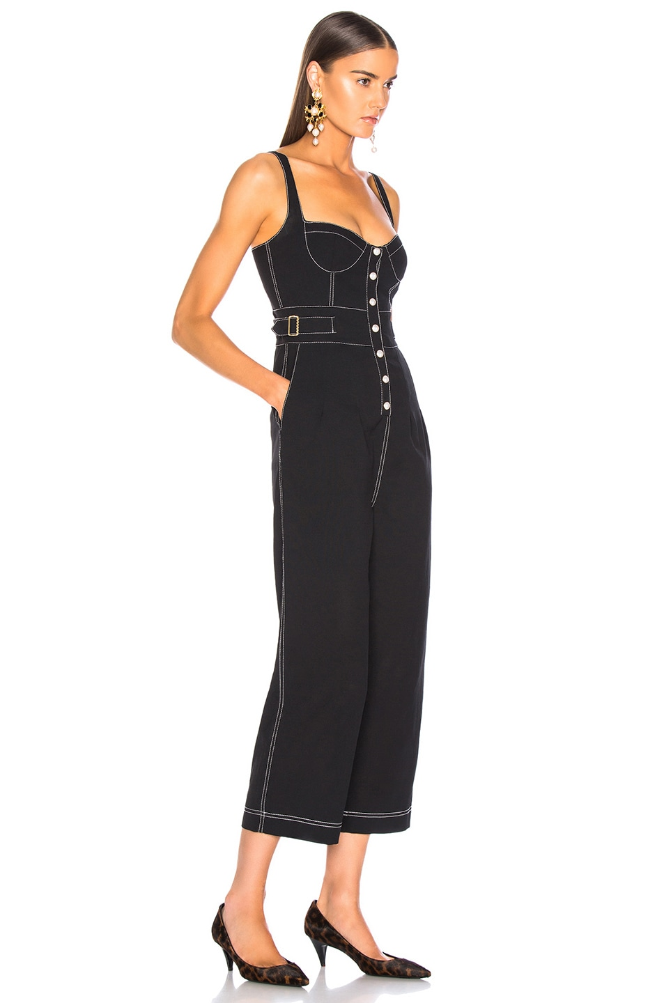 Image 2 of Alice McCall Grazie Jumpsuit in Black