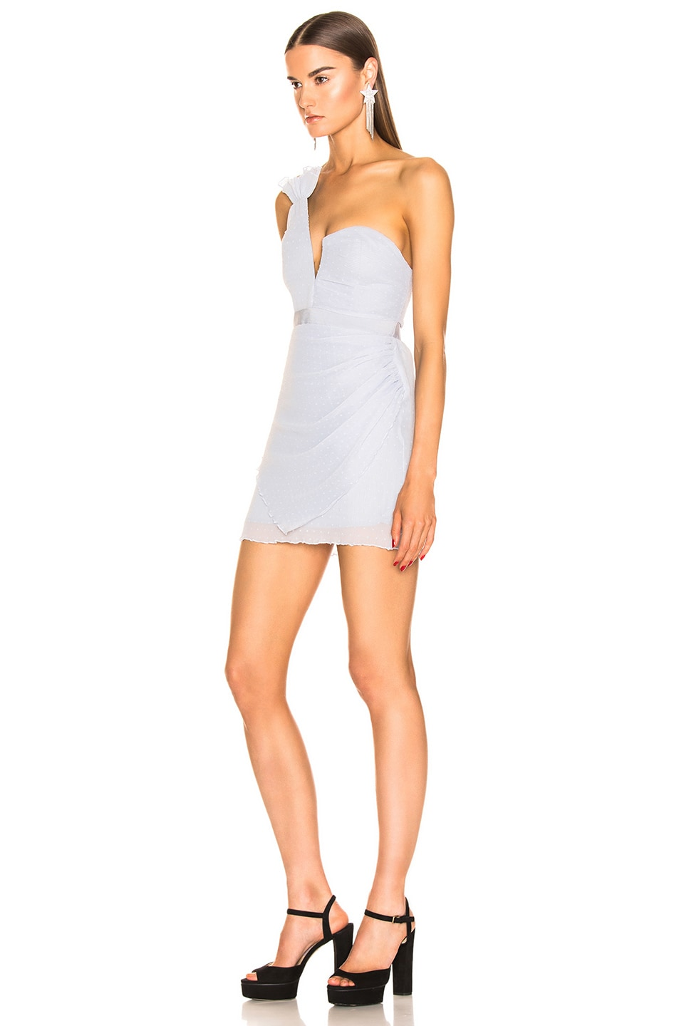 Image 3 of Alice McCall You're The One For Me Mini Dress in Crystal