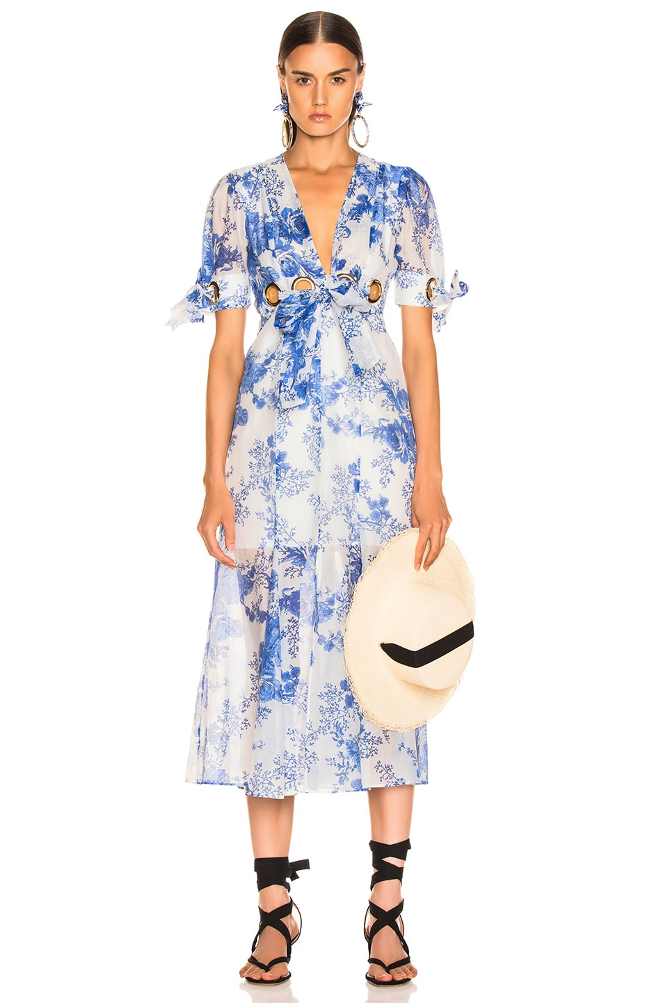 Image 1 of Alice McCall Only Everything Midi Dress in Ocean