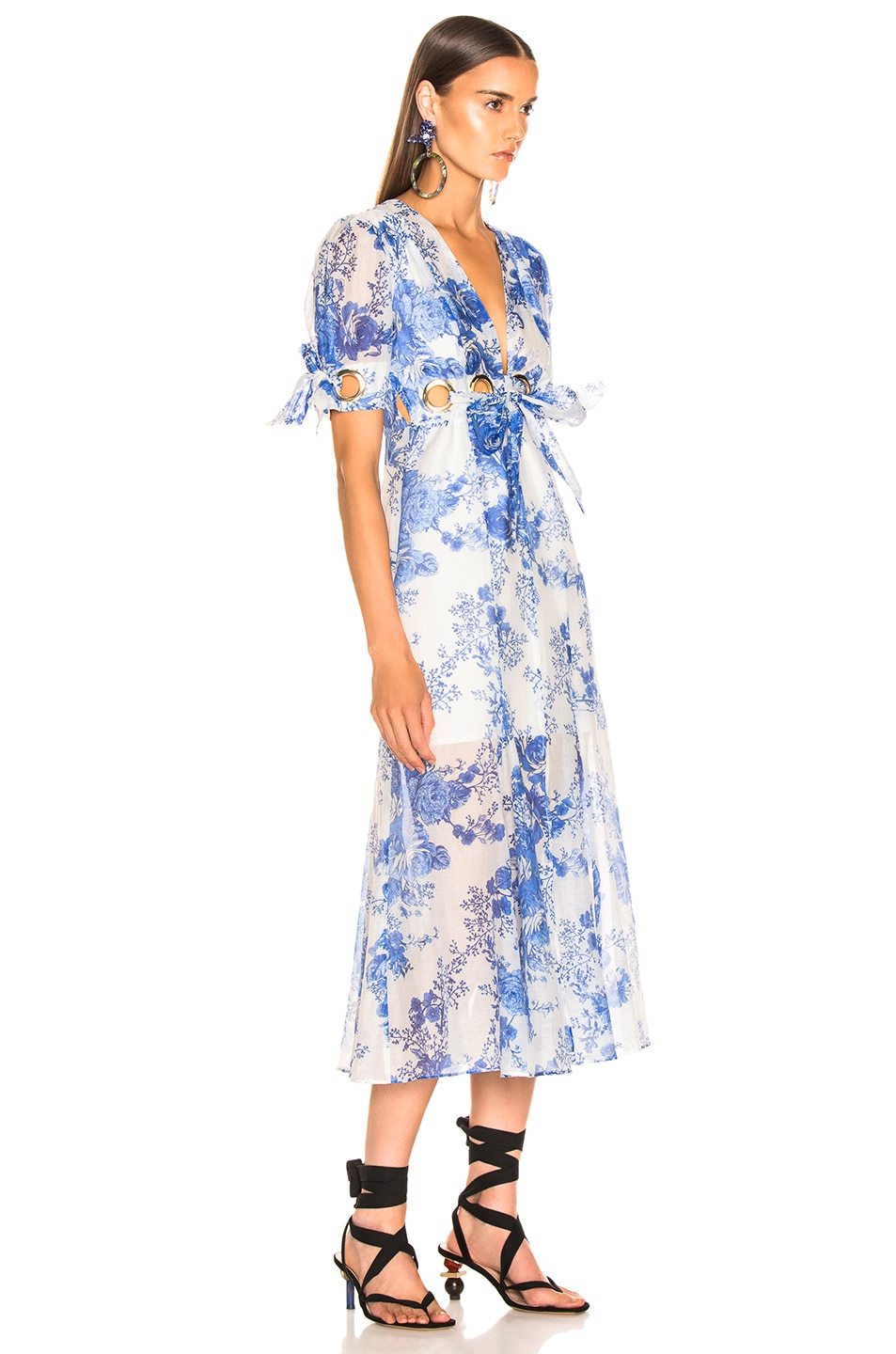 Image 2 of Alice McCall Only Everything Midi Dress in Ocean