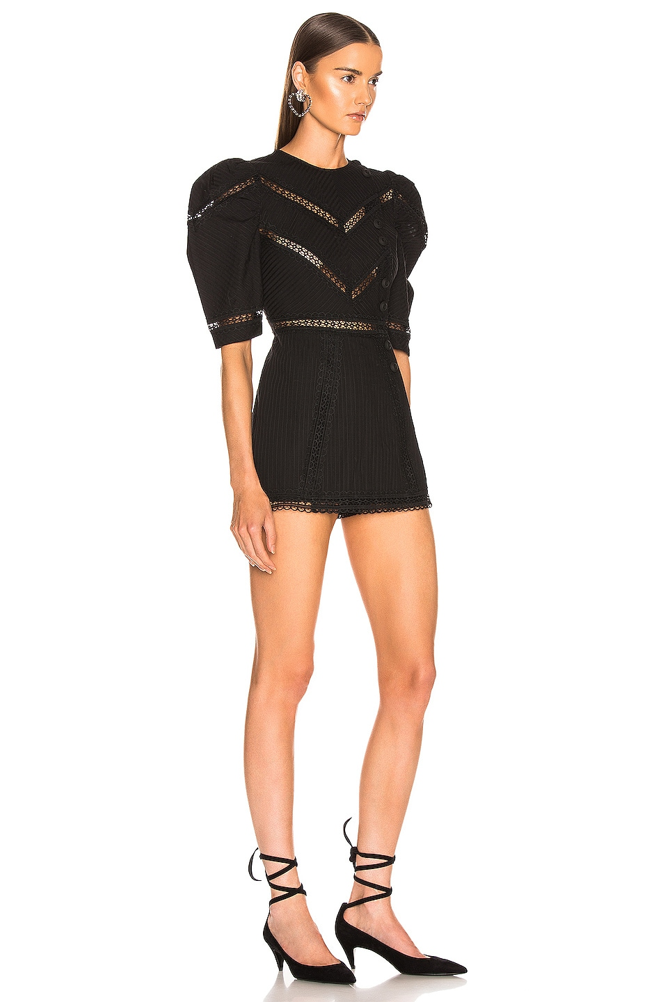 Image 2 of Alice McCall A Foreign Affair Mini Dress in Black