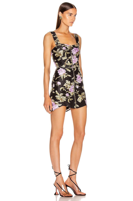 Image 2 of Alice McCall Wild Flowers Mini Dress in Black