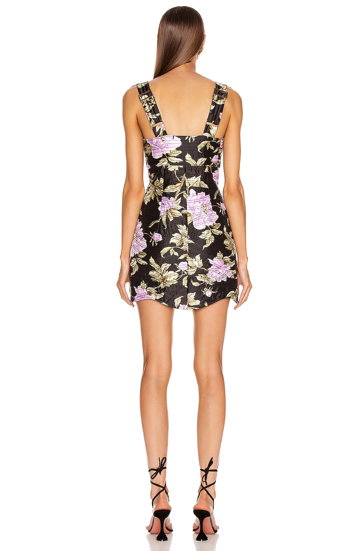 Image 3 of Alice McCall Wild Flowers Mini Dress in Black