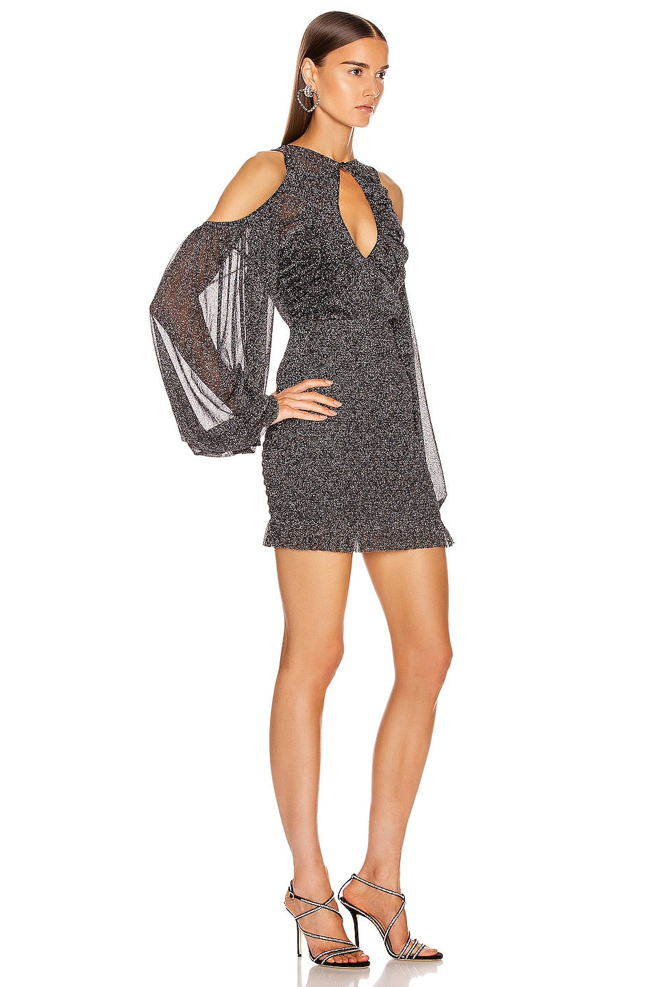 Image 2 of Alice McCall Spell Mini Dress in Black