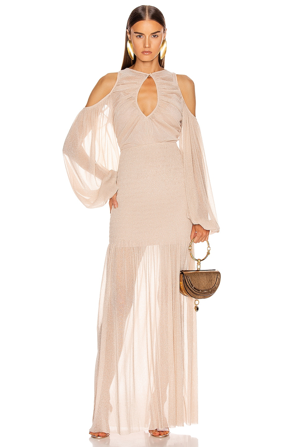 Image 1 of Alice McCall Spell Gown in Nude