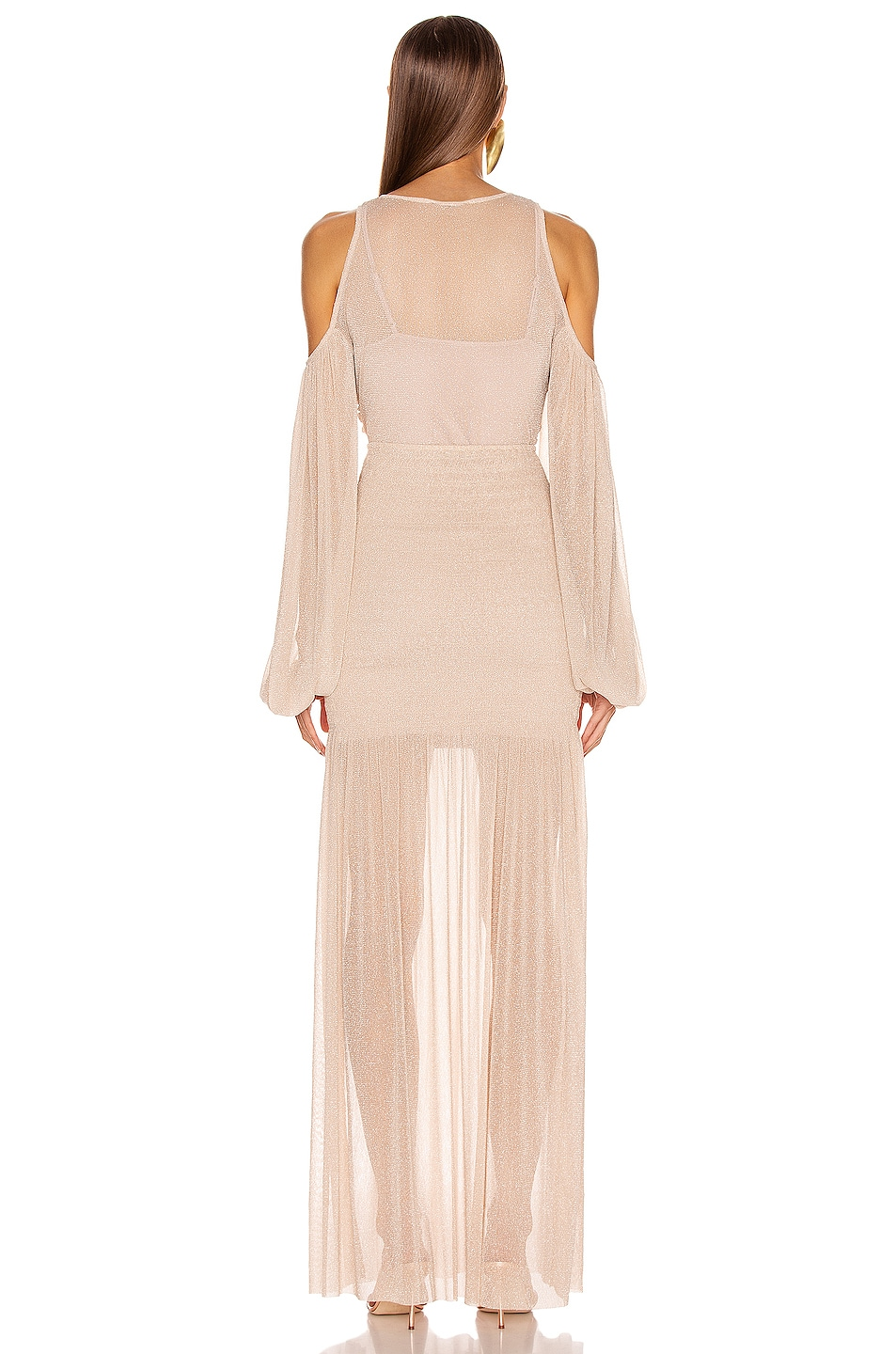 Image 3 of Alice McCall Spell Gown in Nude