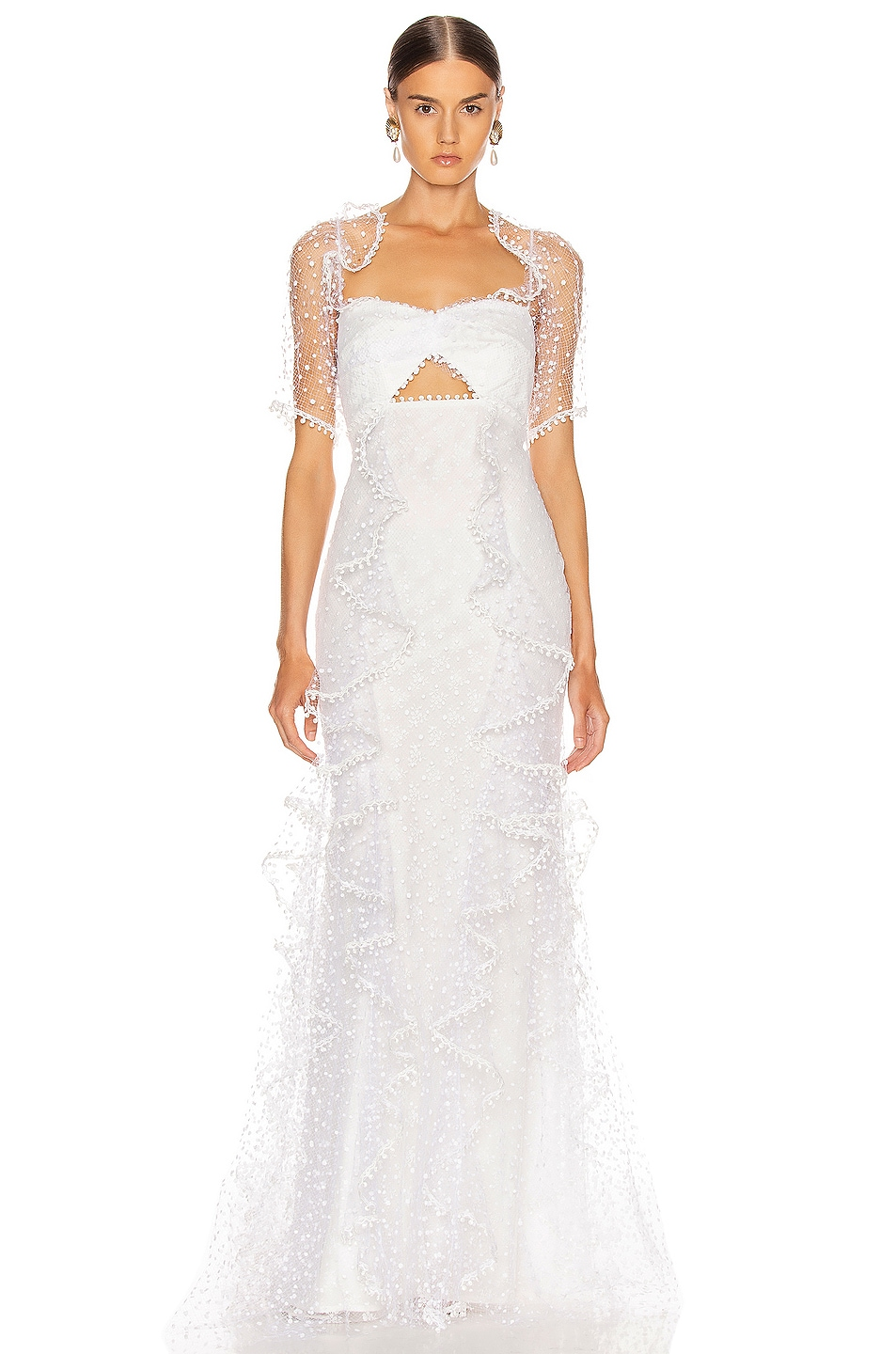 Image 1 of Alice McCall Found You Gown in Porcelain